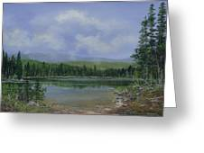 Upland Lake Greeting Card
