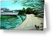Upon Ashore Greeting Card