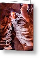 Upper Antelope Canyon #1 Greeting Card