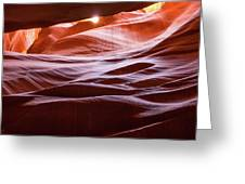 Upper Antelope Canyon 6 Greeting Card