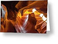 Upper Antelope Canyon Beauty Natural Greeting Card