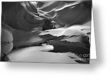 Upper Antelope Chamber Greeting Card