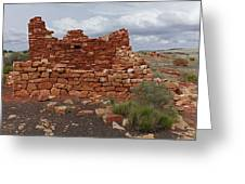 Upper Box Canyon Ruin Greeting Card