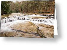 Upper Campbell Falls Greeting Card