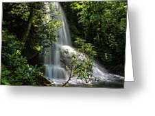 Upper Catawba Falls Greeting Card