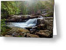 Upper Copeland Falls Greeting Card