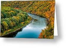 Upper Delaware River Greeting Card