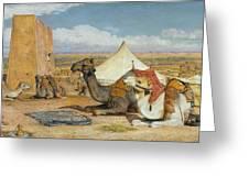 Upper Egypt Greeting Card