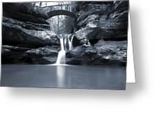 Upper Falls Hocking Hills Ohio Greeting Card