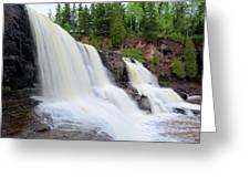Upper Gooseberry Falls Greeting Card