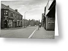 Upper High Street, Lye - 1960's    Ref-63 Greeting Card