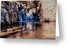 Upper Jemez Falls New Mexico Greeting Card