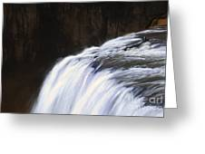 Upper Mesa Falls Greeting Card