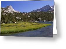 Upper Pine Lake Greeting Card