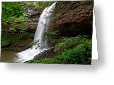 Upper Piney Falls Greeting Card
