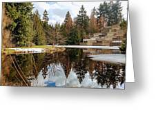 Upper Pond Reflections Greeting Card