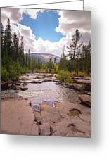 Upper Provo, Early Fall Greeting Card