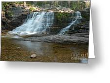 Upper Provo River Falls Greeting Card