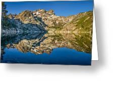 Upper Sardine Lake Panorama Greeting Card