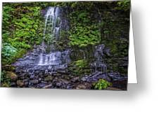 Upper Terrace Falls Greeting Card