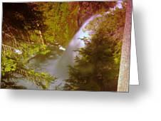 Upper Union Creek Falls  Greeting Card