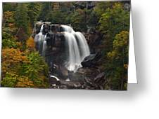 Upper Whitewater Falls - Nc Greeting Card