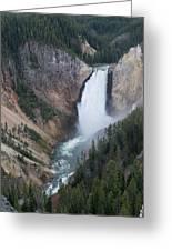 Upper Yellowstone Greeting Card