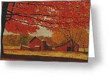 Upstate Autumn Greeting Card