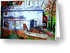 Upstate Barn Greeting Card