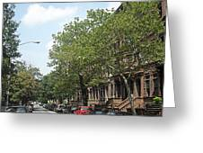 Uptown Ny Street Greeting Card
