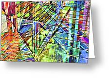 Urban Abstract 115 Greeting Card
