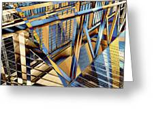 Urban Abstract 179 Greeting Card