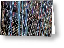 Urban Abstract 236 Greeting Card