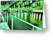 Urban Abstract 339 Greeting Card