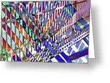 Urban Abstract 352 Greeting Card