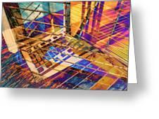 Urban Abstract 423 Greeting Card