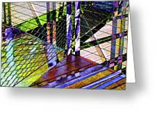 Urban Abstract 466 Greeting Card