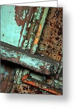 Urban Abstract Greeting Card
