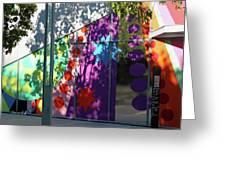 Urban Color - Afternoon Shadows Greeting Card