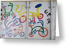 Urban Container Art I I Greeting Card