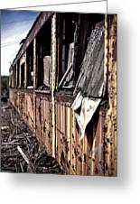Urban Decay  Train 2 Greeting Card