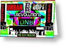 Urban Dope Greeting Card