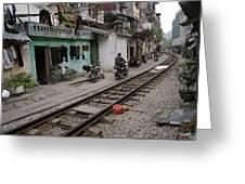 Urban Hanoi Greeting Card