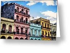 Urban Havana Greeting Card