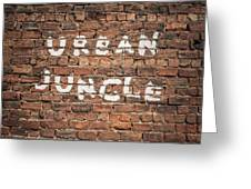 Urban Jungle Greeting Card
