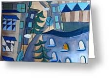 Urban Landscape 5 Greeting Card