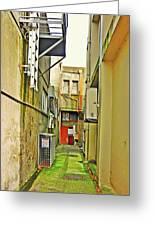 Urban Landscape-blind Alley Greeting Card