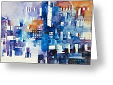 Urban Landscape No.1 Greeting Card
