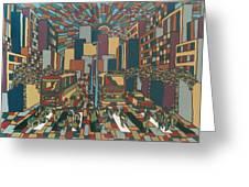 Urban Music Xll Greeting Card