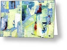 Urban Patterns 1 Greeting Card